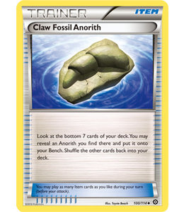 Pokemon Claw Fossil Anorith - XY StSi - 100/114