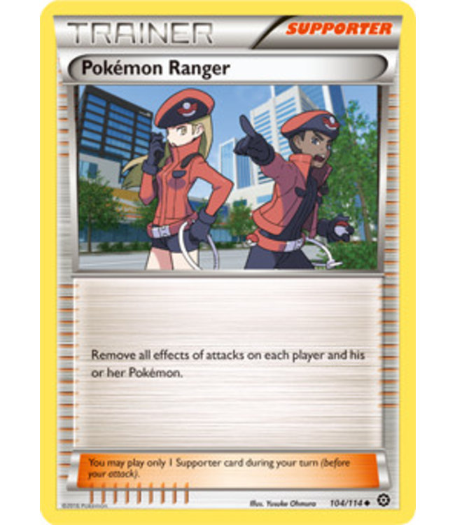 Pokemon Pokemon Ranger - XY StSi - 104/114