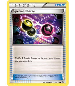 Pokemon Special Charge - XY StSi - 105/114 - Reverse