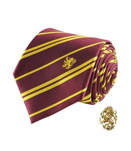 Cinereplicas Harry Potter Tie & Metal Pin Deluxe Box Gryffindor