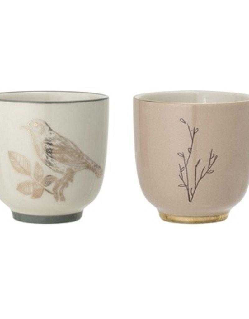 Bird/twig cup