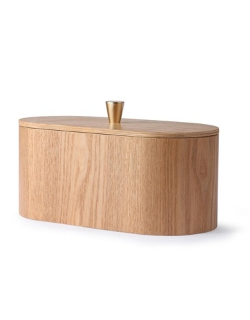 Willow wooden storage box
