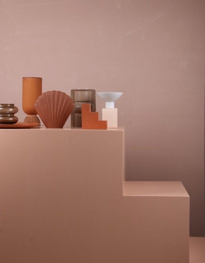 Vase colour terra