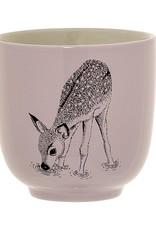 cup with deer
