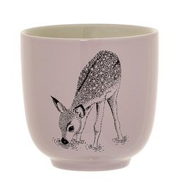 cup with dear