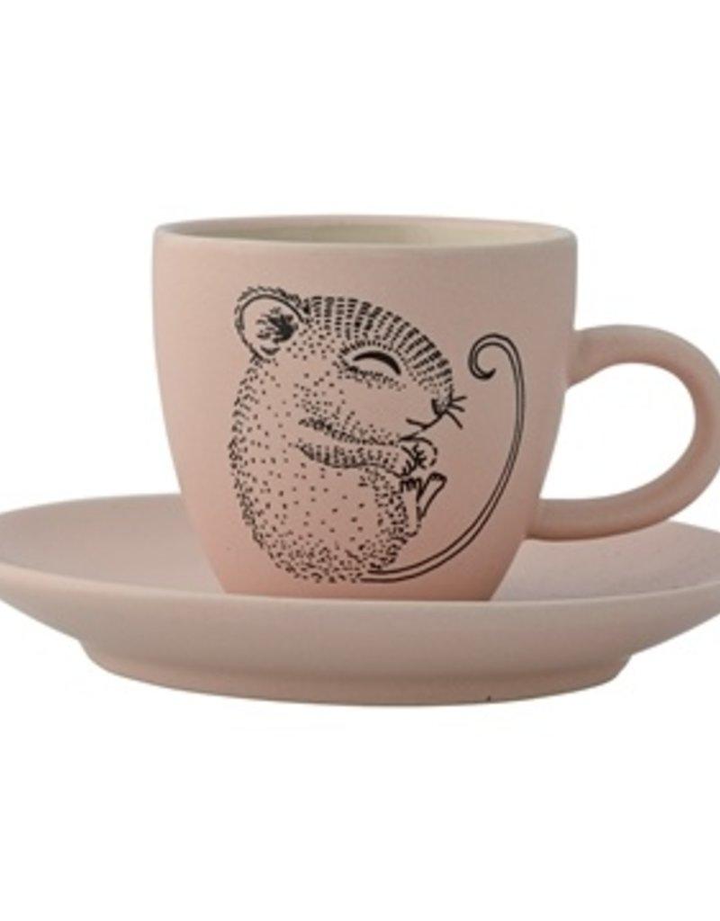 Mini tea cup mouse