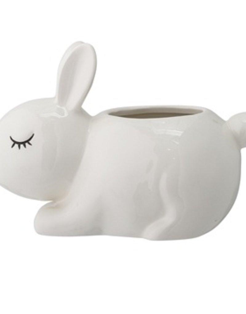 ceramic cottonbox bunny