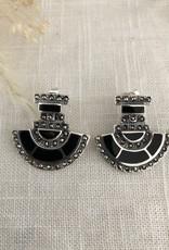 Abstract earrings