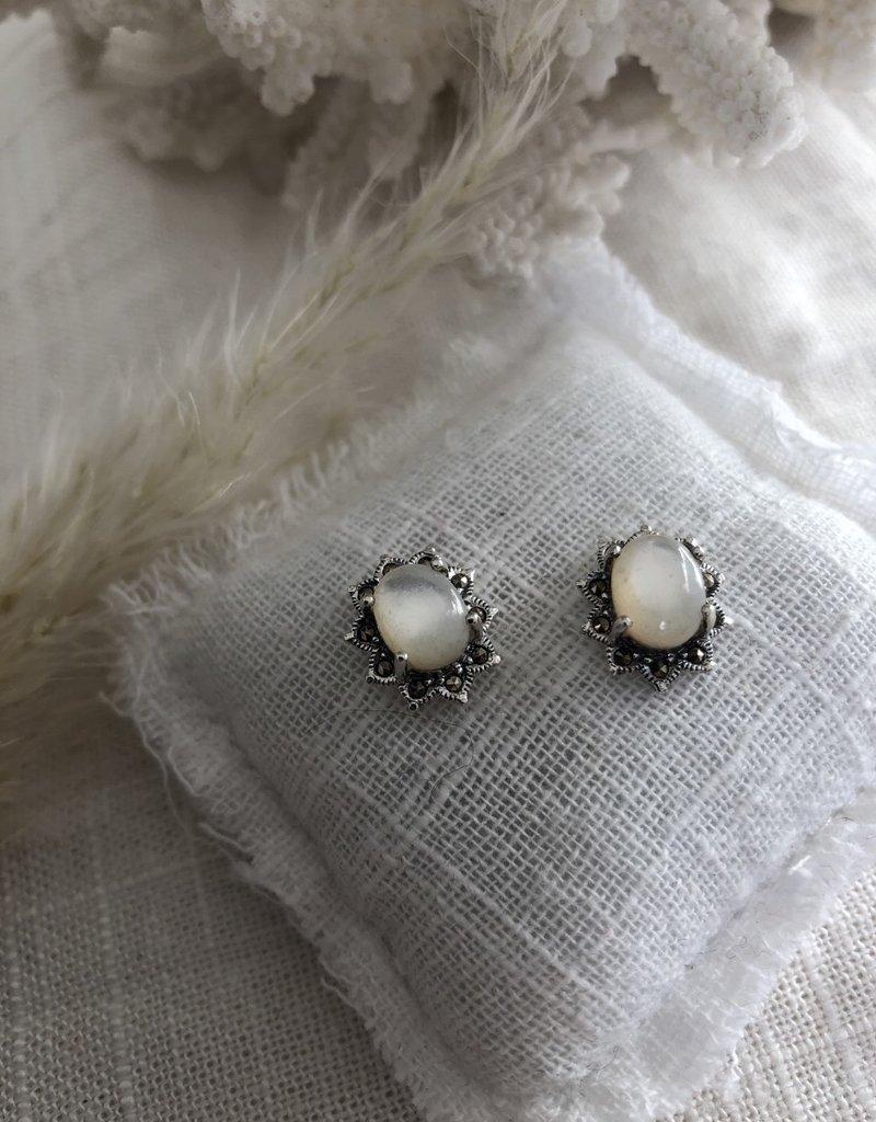 Star-shaped earrings