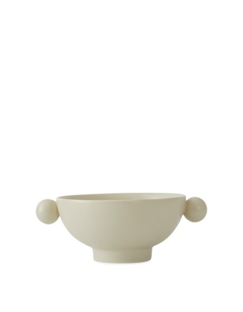 Serving dish beige