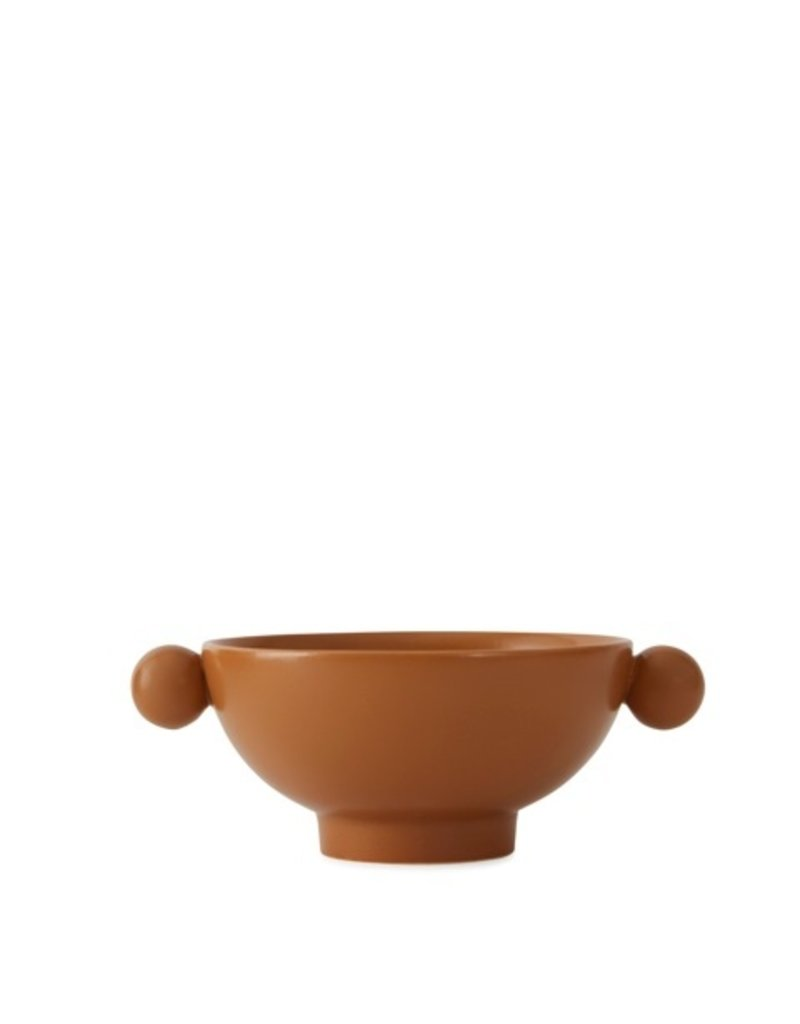 Serving dish terracotta