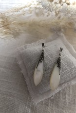 Drop-shaped earrings
