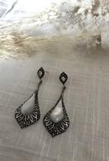 Druppelvormige oorbellen