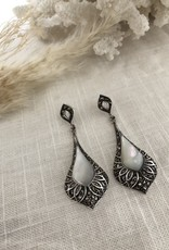 Drop-shaped earrings
