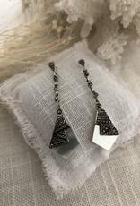 Earrings mother of pearl