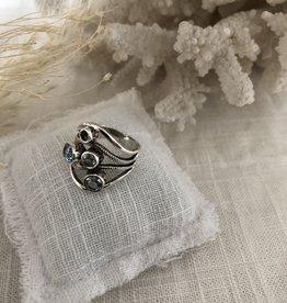 Ring topaz