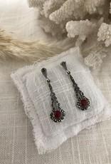 Earrings granite