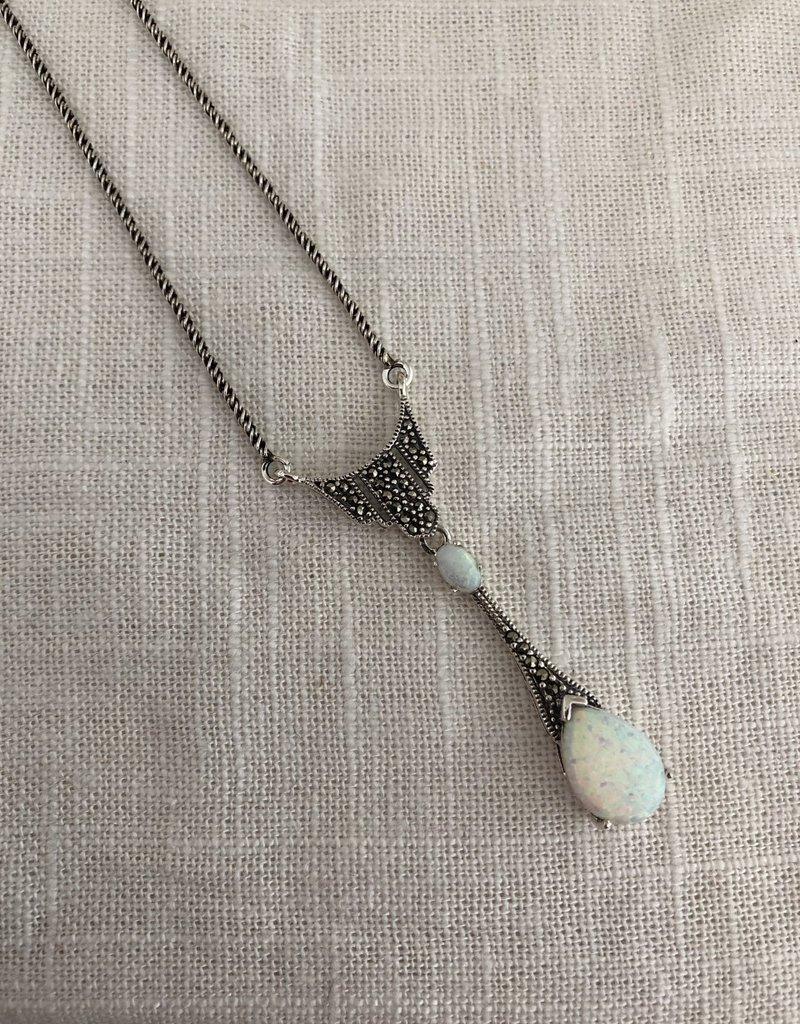 Ketting met opaal