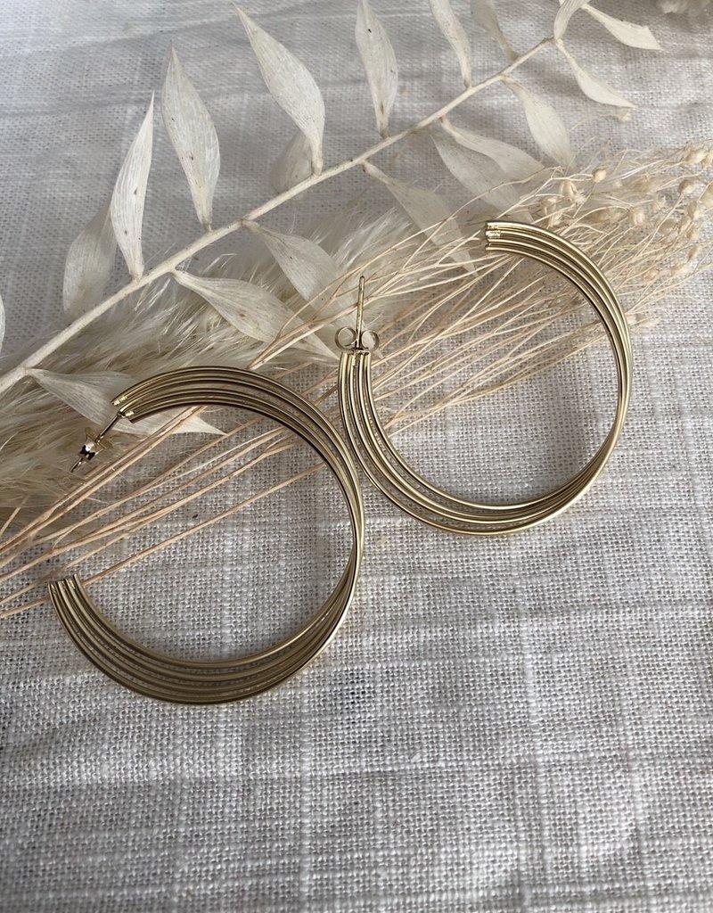Ronde oorbellen