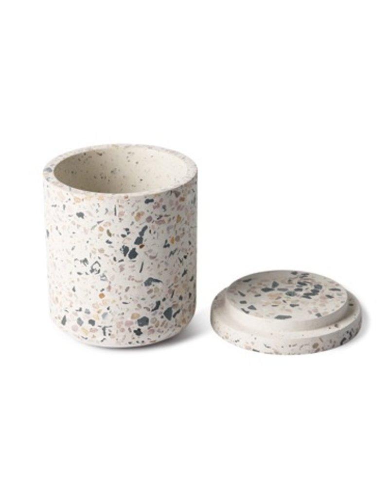 Terrazzo storage jar S