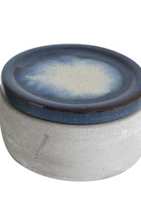 Jar with lid, concrete