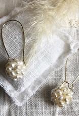 Earrings sweet water pearl