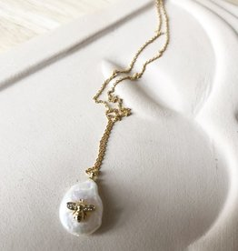 Necklace sweetwater pearl