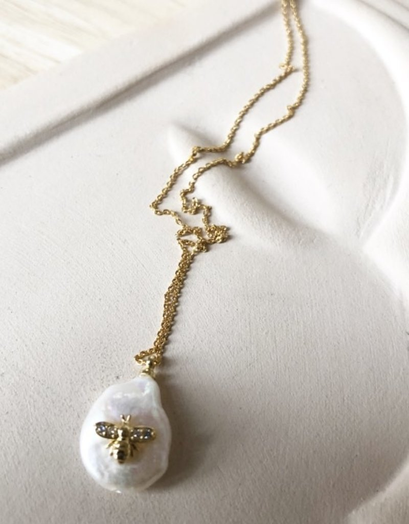 Ketting zoetwaterparel