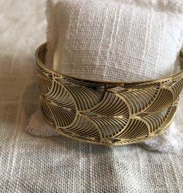 Armband art-deco stijl goud
