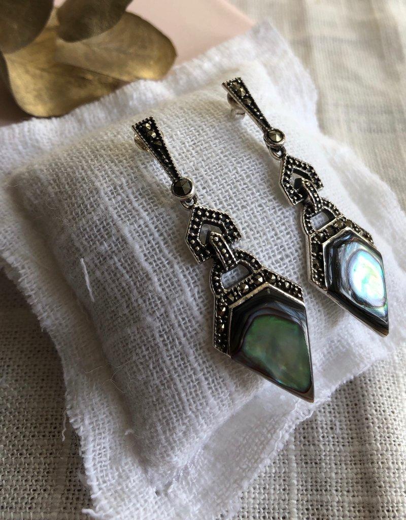 Art-deco earrings