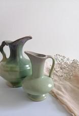 Groene vaas groot/klein