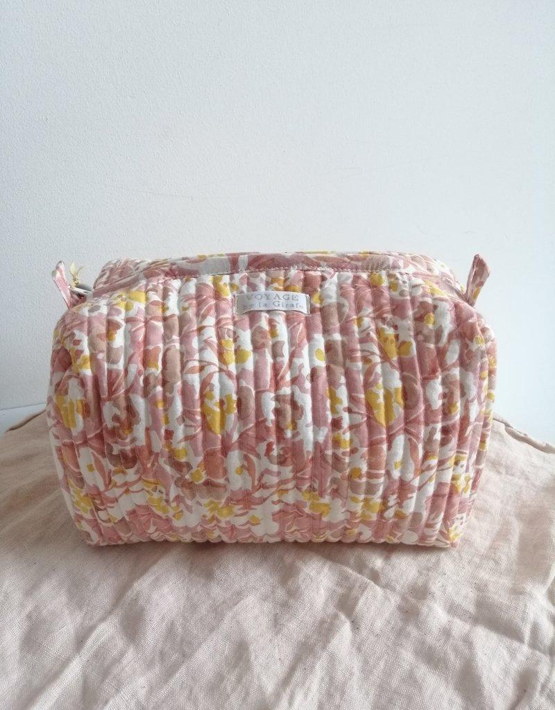 Toiletry bag pink/orange