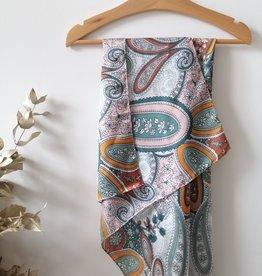 Sjaal paisley print