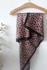 Scarf leopard print