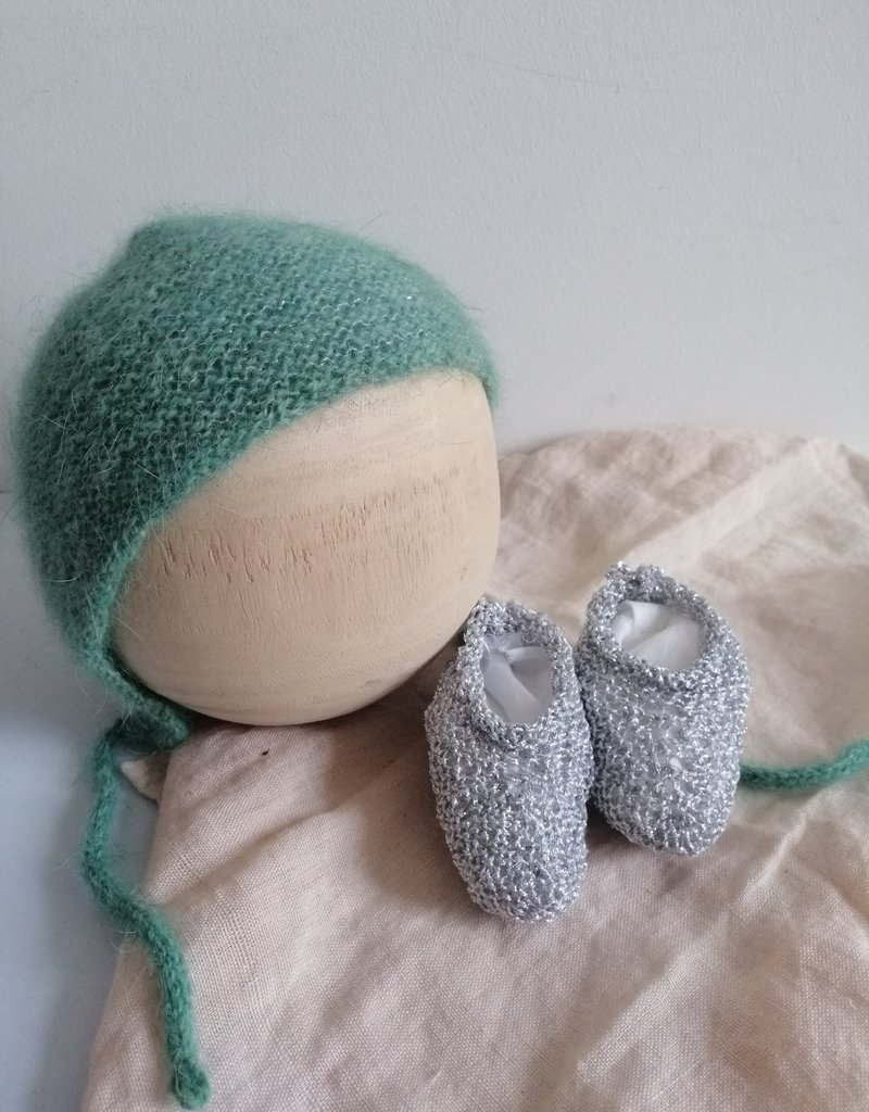Newborn set green