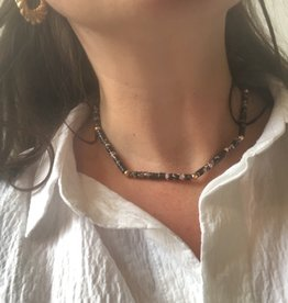 Necklace marble look