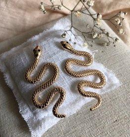 Earrings snake