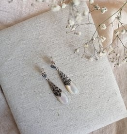 Earrings mother of pearl