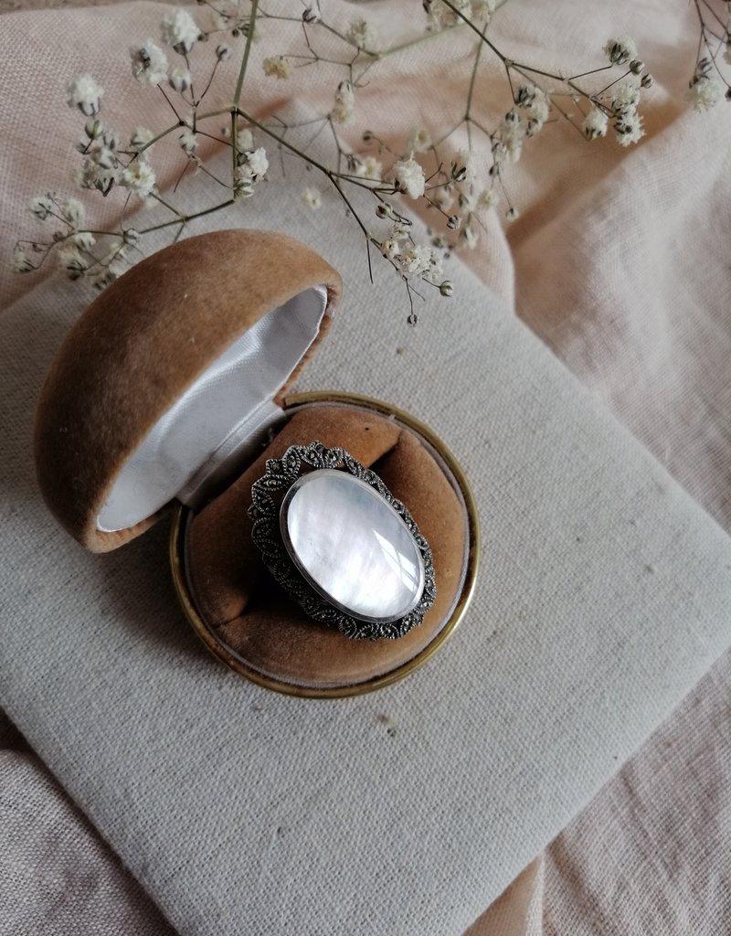 Ring parelmoer