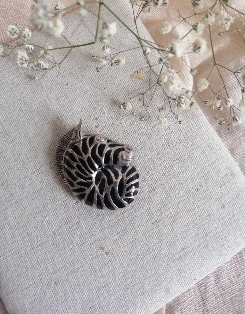Broche zebra
