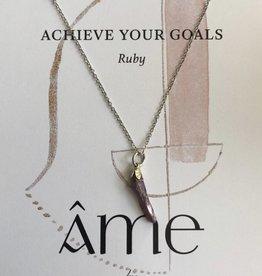 ÂME Necklace Ruby