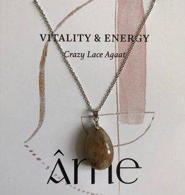 ÂME Necklace Crazy Lace Agate
