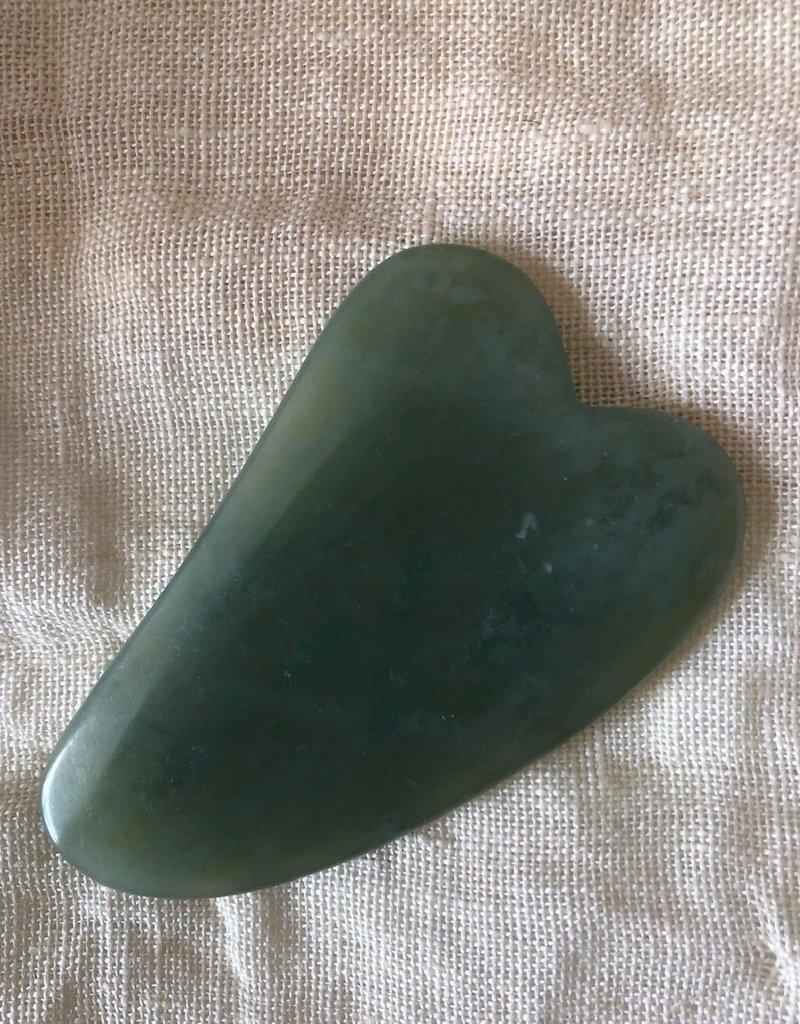 Gua sha jade stone