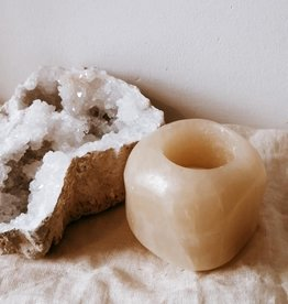 Crystal candle calcite