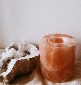 ÂME Theelichthouder zoutkristal
