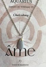 ÂME Horoscope necklace Aquarius