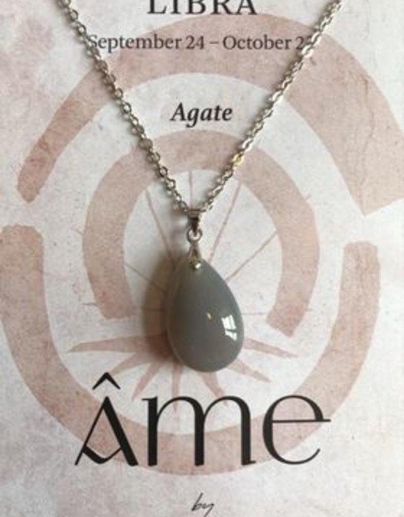 ÂME Horoscope necklace Libra