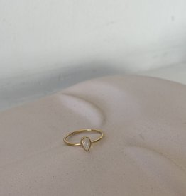 RING WITTE STEEN m52