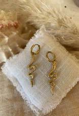 Snake earrings