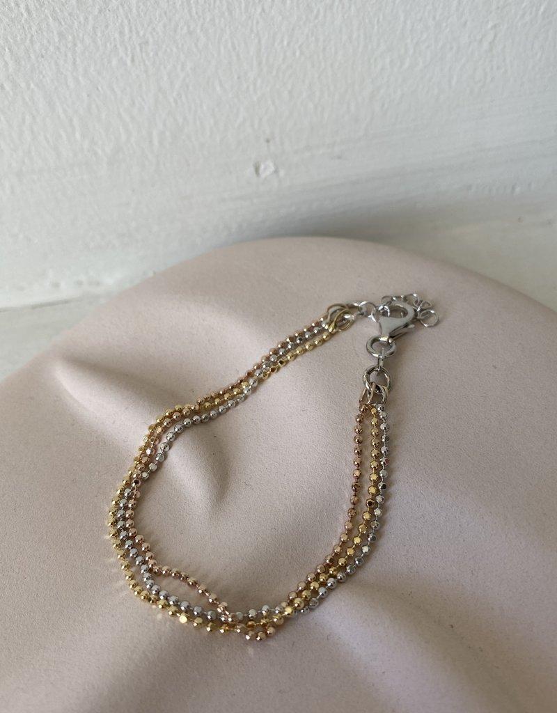 Driekleurige armband
